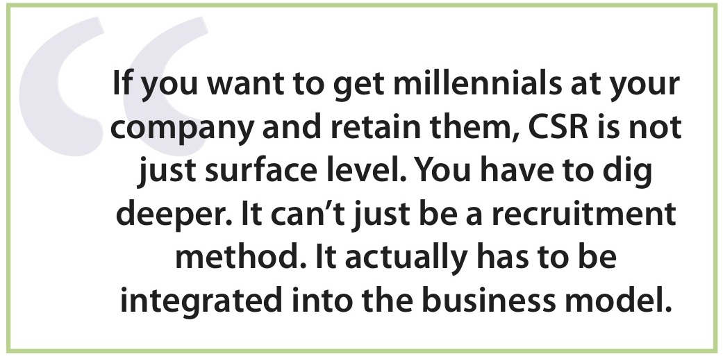 How Doing Good Helps Recruit And Retain Millennials